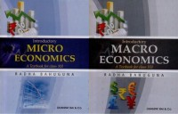 Introductory Micro and Macro Economics: A Textbook For Class - XII (Set of 2 Books): Regionalbooks