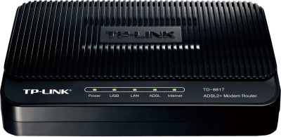 Buy TP-LINK TD-8817 ADSL2+ Ethernet/USB Wired with Modem Router: Router