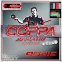 Donic Coppa Jo Platin Max Table Tennis Rubber - Black