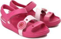 Crocs Keeley Sandal Girls Flats: Sandal