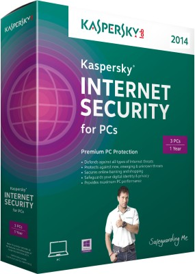 Buy Kaspersky Internet Security 2014 3 PC 1 Year: Security Software