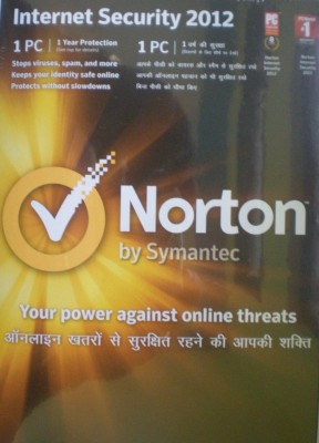 Buy Norton Internet security 2012 1 PC 1 Year: Security Software