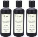 Khadi Amla & Bhringraj Shampoo (SLS & Paraben Free) - 630 Ml