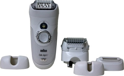 Buy Braun Xpressive Body & Face Silk Epil 7, 7681 Epilator For Women: Shaver