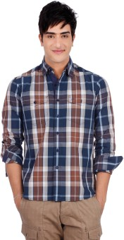 Compare Lee Men Checkered Casual Shirt: Shirt at Compare Hatke