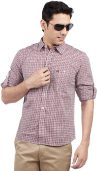 Compare Wrangler Men Checkered Casual Shirt: Shirt at Compare Hatke
