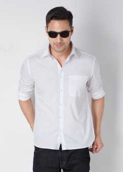 Compare Daniel Hechter Men Solid Casual Shirt: Shirt at Compare Hatke