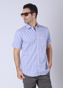 Compare Raymond Men Checkered Casual Shirt: Shirt at Compare Hatke