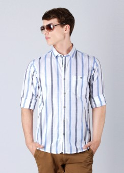 Compare Cherokee Men Striped Casual Shirt: Shirt at Compare Hatke