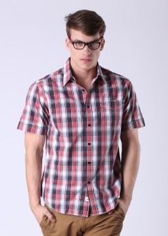 Compare Levi Men Checkered Casual Shirt: Shirt at Compare Hatke