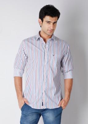 Buy Allen Solly Men's Striped Casual Shirt: Shirt