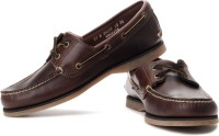 Timberland Cls2I Boat Rootbeer Boat Shoes: Shoe