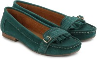 Blue Button Valley Green: Shoe