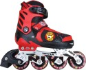 Nivia Cat Club In-Line Skates - Size 35 - 38 Euro - Red, Black