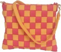 Toteteca Bag Works Weaved Sling Sling Bag - Pink, Mango