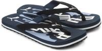 Puma Splash Jr-Dark Blue Navy Flip Flops: Slipper Flip Flop