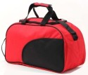 Walletsnbags Stylish Small Travel Bag  - Medium - Black, Red