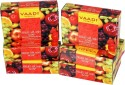 Vaadi Fruit Splash Soap With Mix Fruit Extracts - Pack Of 5 - 75 G