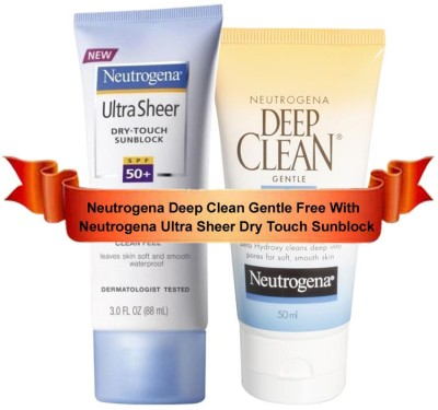 Buy Neutrogena UltraSheer Dry Touch Sunblock - SPF 50: Sunscreen