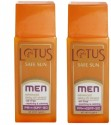Lotus Herbals Safe Sun Men Advanced Daily UV Shield (Pack Of 2) - SPF 30 - 120 G