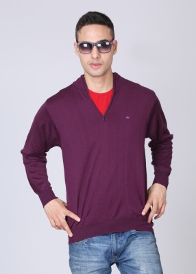 Monte Carlo Solid Casual Men's Sweater