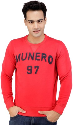 Monteil & Munero Full Sleeve Solid Men's Sweatshirt