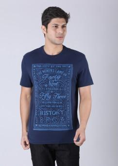 Compare Levi Round Neck Printed Men T-shirt: T-Shirt at Compare Hatke