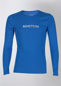 United Colors of Benetton Round Neck Round Neck Printed Men's T-shirt: T-Shirt