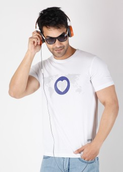 Compare One Life Tees Armin Van Buuren Round Neck Printed Men T-shirt: T-Shirt at Compare Hatke