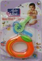 Love Baby Auto Flow Water Filled Toy Teether - Orange - Multi-color