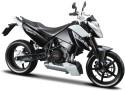 Maisto KTM 690 Duke Bike Assembly Kite - Black, White