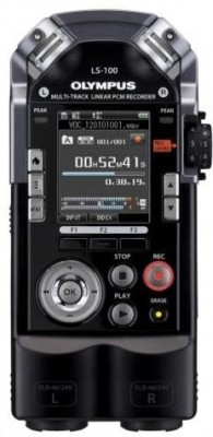 Buy Olympus LS - 100 4 GB Voice Recorder: Voice Recorder