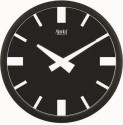 Ajanta 2357 Analog Wall Clock - Black
