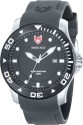 Swiss Eagle Dive Analog Watch  - For Men - Grey