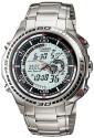 Casio Edifice Analog-Digital Watch  - For Men - Silver