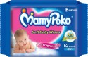 Mamy Poko Soft Baby Wipes - 52 Pieces