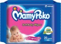 Mamy Poko Soft Baby Wipes - 20 Pieces