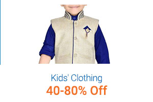 Kids' Clothing 40-80% Off