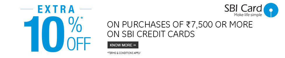 Flipkart Sbi Credit card Offer